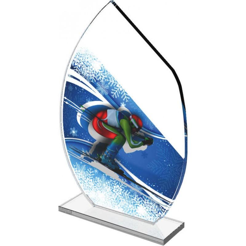 Sklenená trofej CRS3078M18