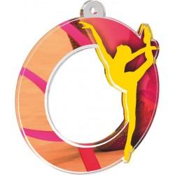 Akrylátová medaile MDA0010M40